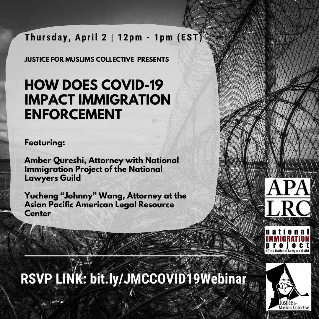 COVID-19 Webinar Series: COVID-19 And Immigration